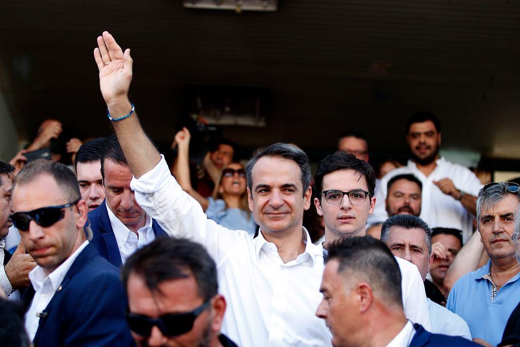Wybory parlamentarne w Grecji. Lider Nowej Demokracji Kiriakos Micotakis