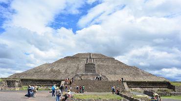 Teotihuacán w Meksyku