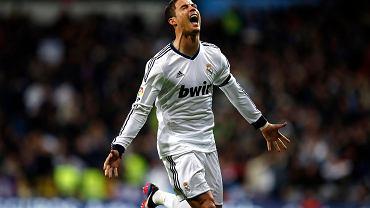 Cristiano Ronaldo po bramce strzelonej Atletico Madryt w nowym modelu butów