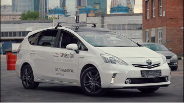 Autonomiczna taksówka Yandex Taxi