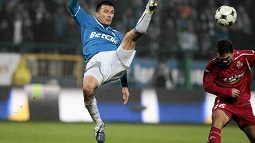 Ivan Djurdjević jako piłkarz Lecha Poznań