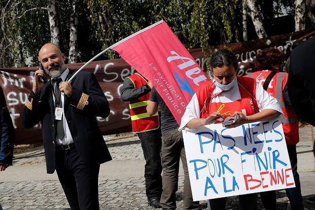Air France. Protest pracowników