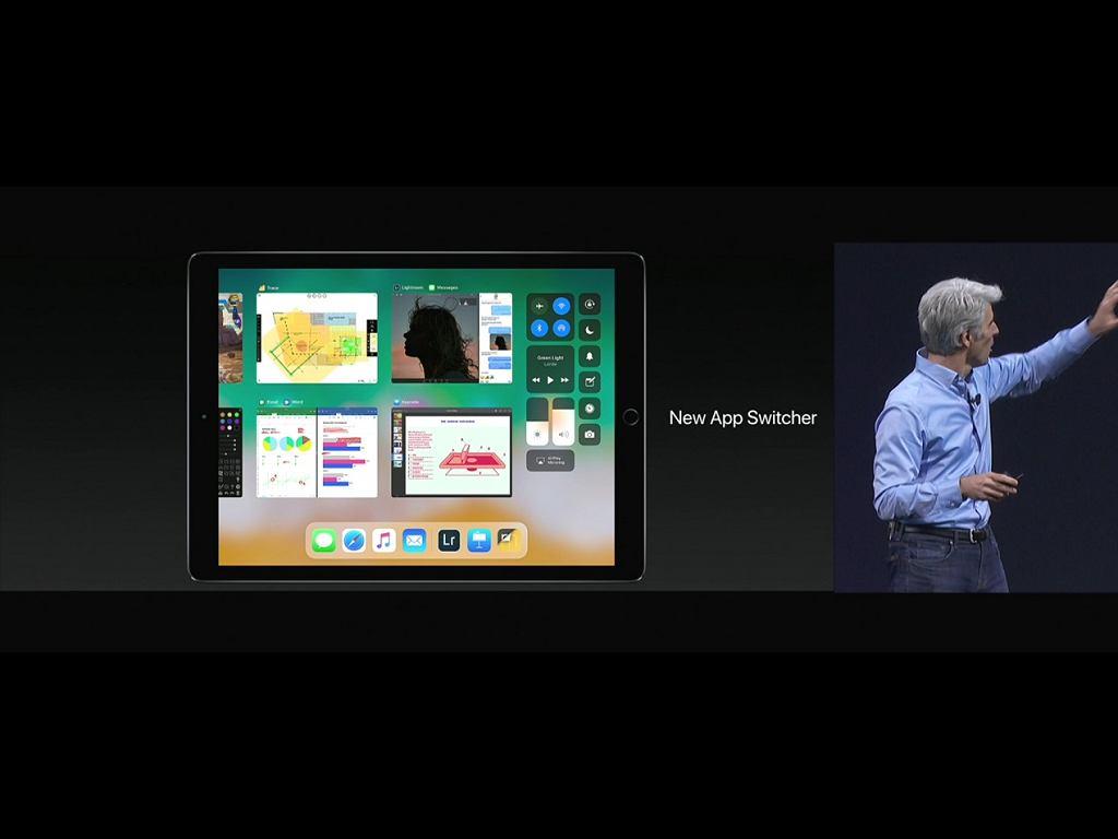 iPad Pro switcher
