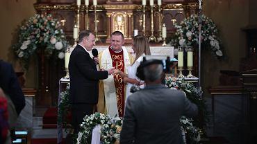 Ślub Jacka Kurskiego w Krakowie