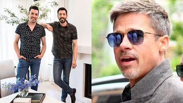 Brad Pitt, Drew i Jonathan Scott