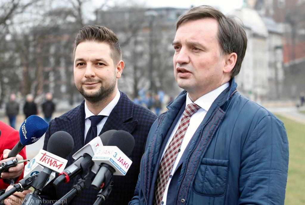 Patryk Jaki i Zbigniew Ziobro