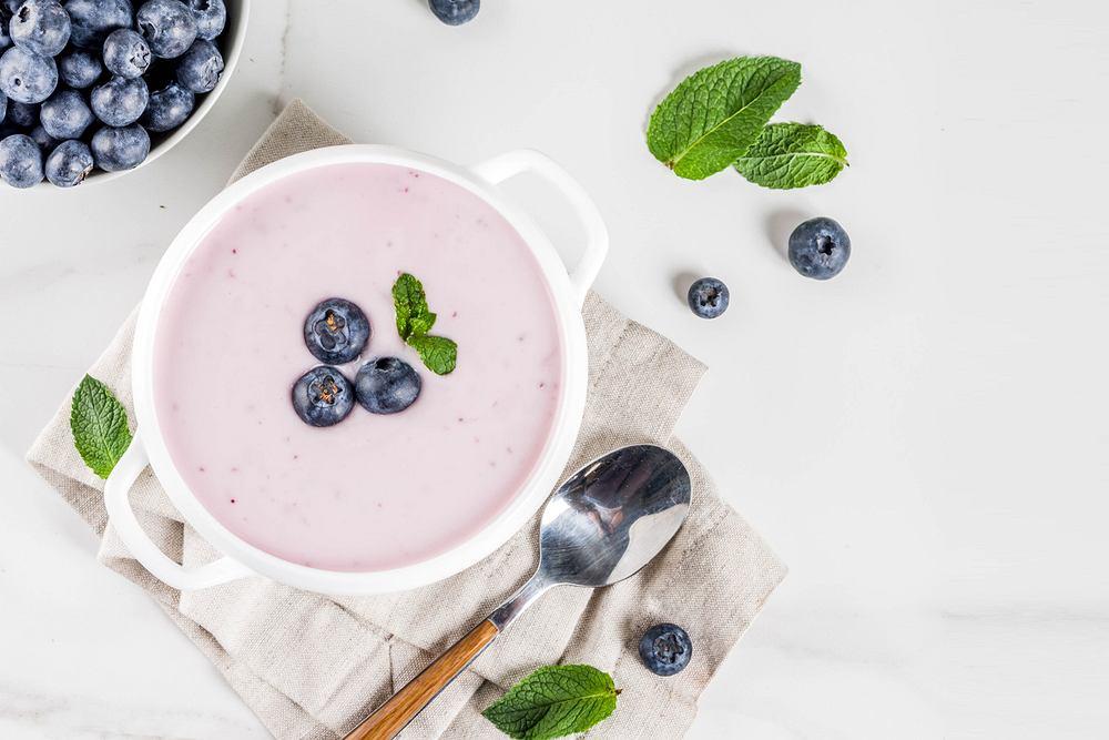 Zupa owocowa. Zdjęcie ilustracyjne