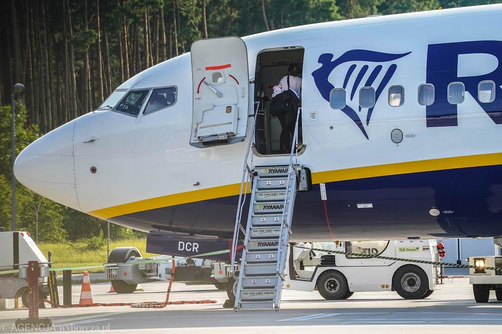 Ryanair do Edynburga