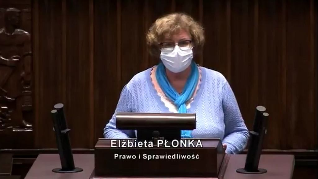 Elżbieta Płonka z PiS