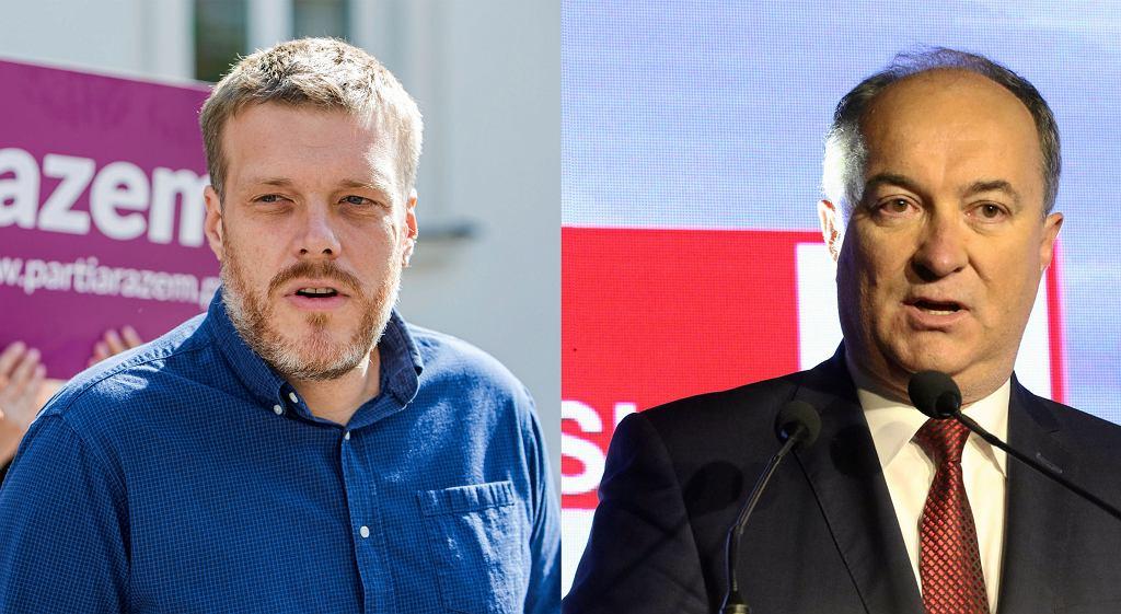 Adrian Zandberg i Włodzimierz Czarzasty