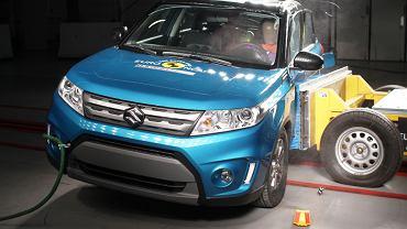 Suzuki Vitara - test zderzeniowy