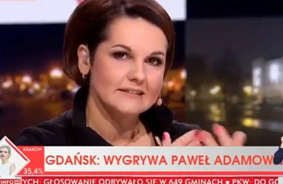 Wieczór wyborczy w TVP Info