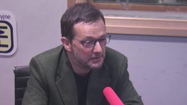 Jan Wróbel wcielił się w nieobecnego w TOK FM Andrzeja Dudę