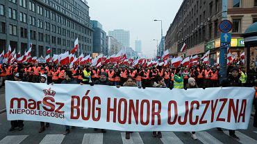 Marsz Niepodległości, Warszawa 11.11.2018.
