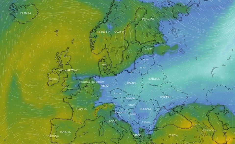 Od weekendu 17-18 listopada zacznie się ochłodzenie