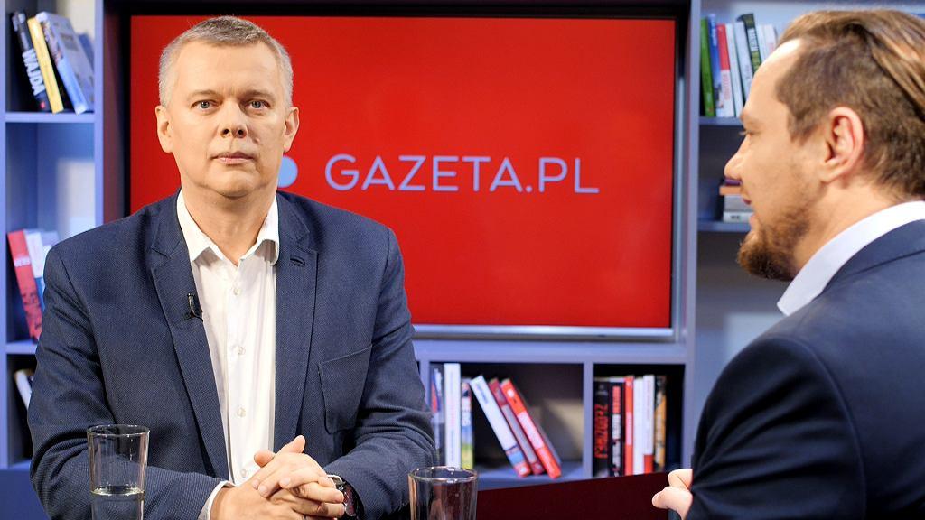 Tomasz Siemioniak był dzisiejszym gościem Gazeta.pl