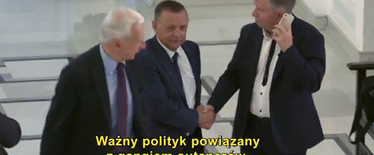 Andrzej Dera o Marianie Banasiu: To bardzo uczciwy i porządny człowiek