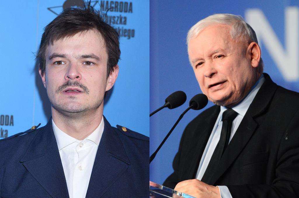 Dawid Ogrodnik, Jarosław Kaczyński