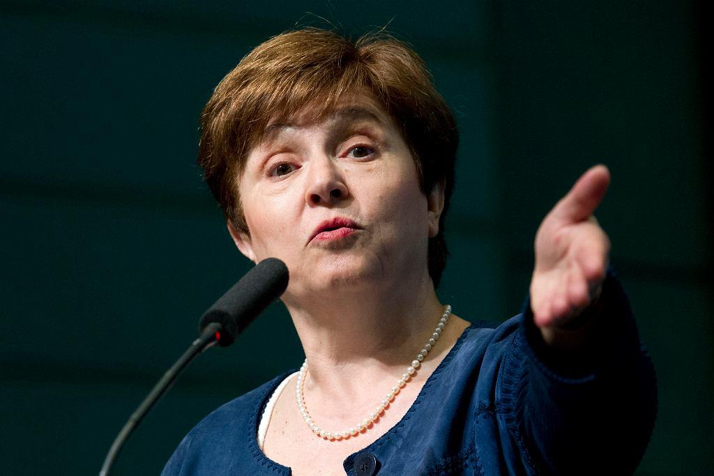 Kristalina Georgieva, nowa szefowa MFW.