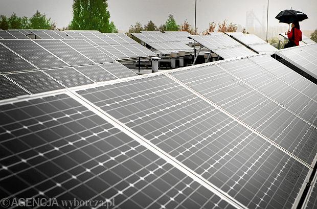 Elektrownia słoneczna w Rudzie Śląskiej