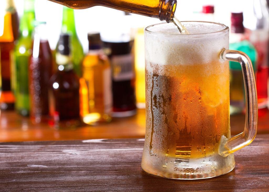 Chłodne piwo po bieganiu?