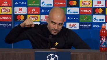 Reakcja Pepa Guardioli na pytanie o Jose Mourinho