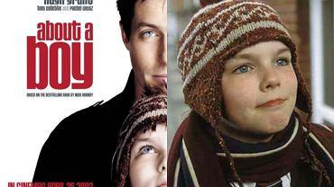 Plakat i kadr z filmu 'Był sobie chłopiec'