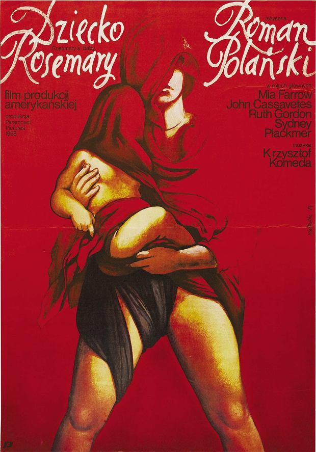 Polski plakat filmu 'Dziecko Rosemary'