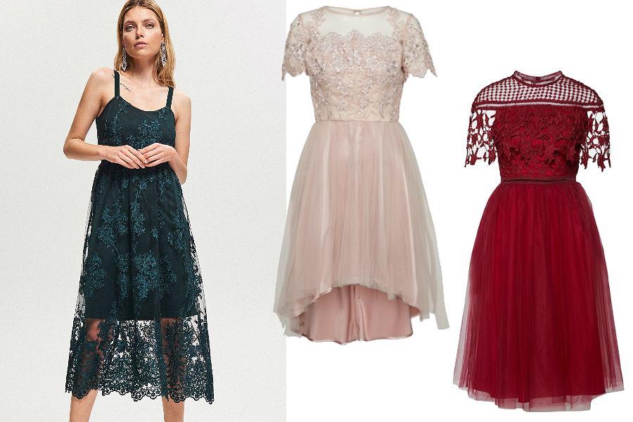 Sukienki koronkowe to kreacje na każdą okazję!