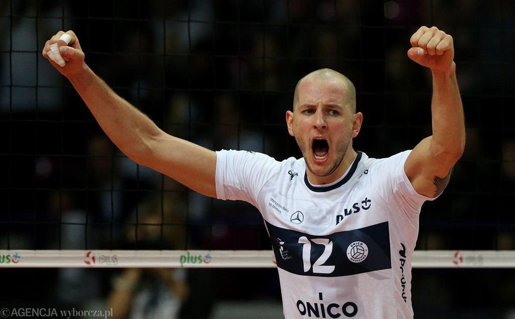 Bartosz Kurek w pierwszym meczu w barwach ONICO Warszawa