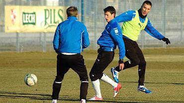 Lech znów trenuje w Poznaniu. Z prawej Ivan Djurdjević