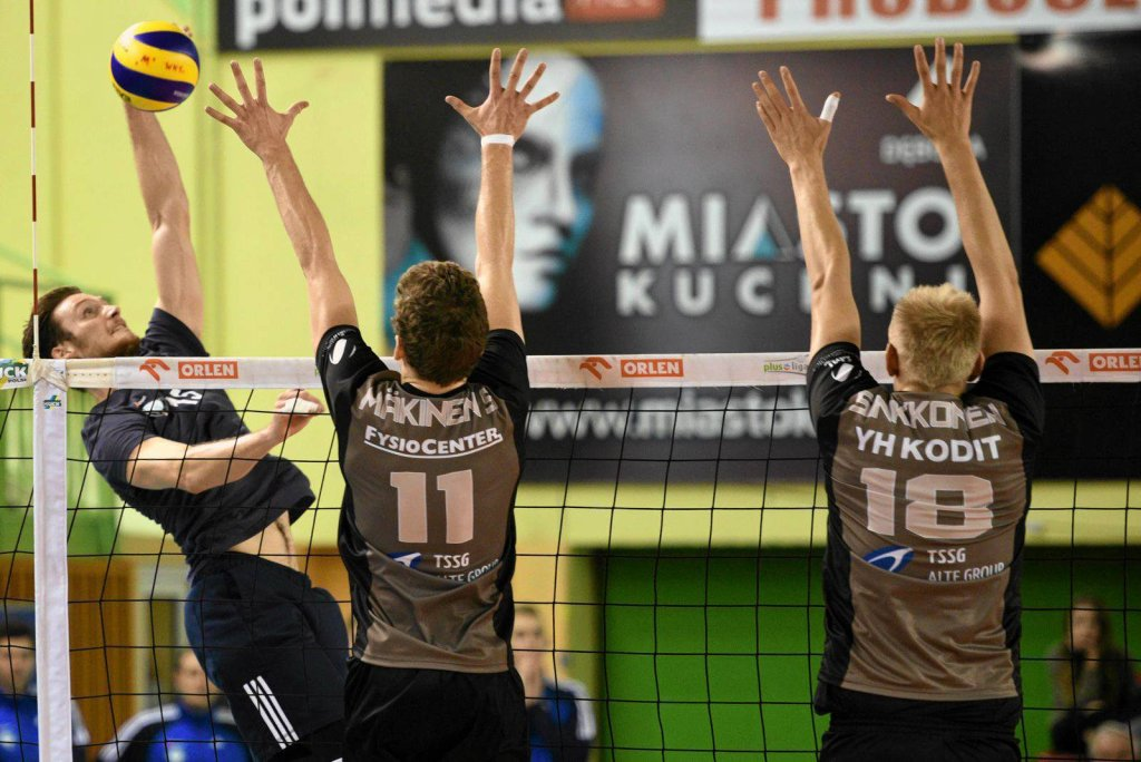 Cerrad Czarni Radom - Isku Volley Tampere 3:2