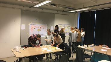 Warsztaty design thinking w ramach 'Zaprojektowane po ludzku'
