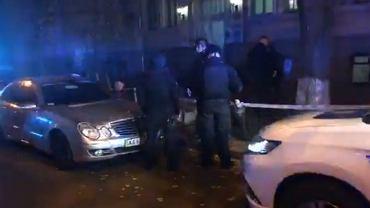 Wybuch granatu w Kijowie
