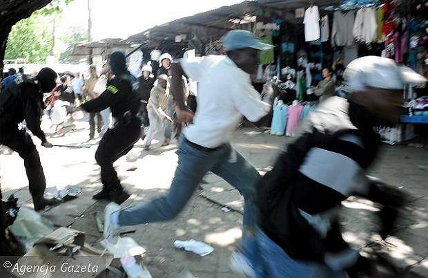 Zamieszki po śmierci Itoyi