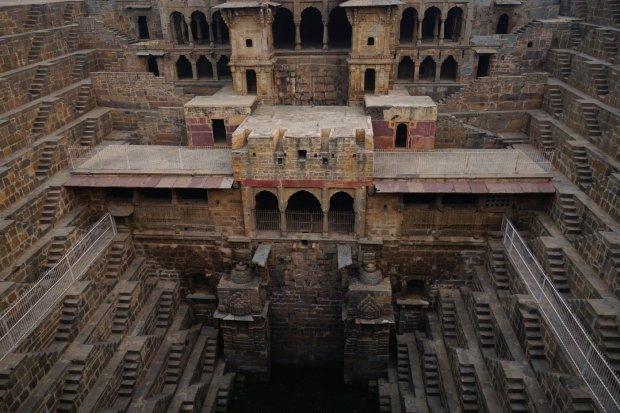 Chand Baori, Indie