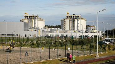 Gazoport w Świnoujściu - Terminal gazowy LNG im. Prezydenta Lecha Kaczyńskiego. 23 października 2017