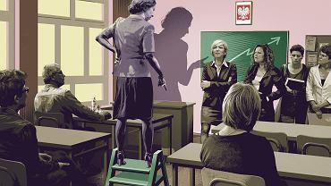 - Na pytanie, dlaczego egzamin wypadł tak słabo, pani dyrektor zaczęła tłumaczyć. Powód? Niski potencjał edukacyjny uczniów. No?proszę pana! To oznacza tyle, że nasze dzieci są głupie i nauczyciele nie muszą się starać. Szlag mnie trafił!