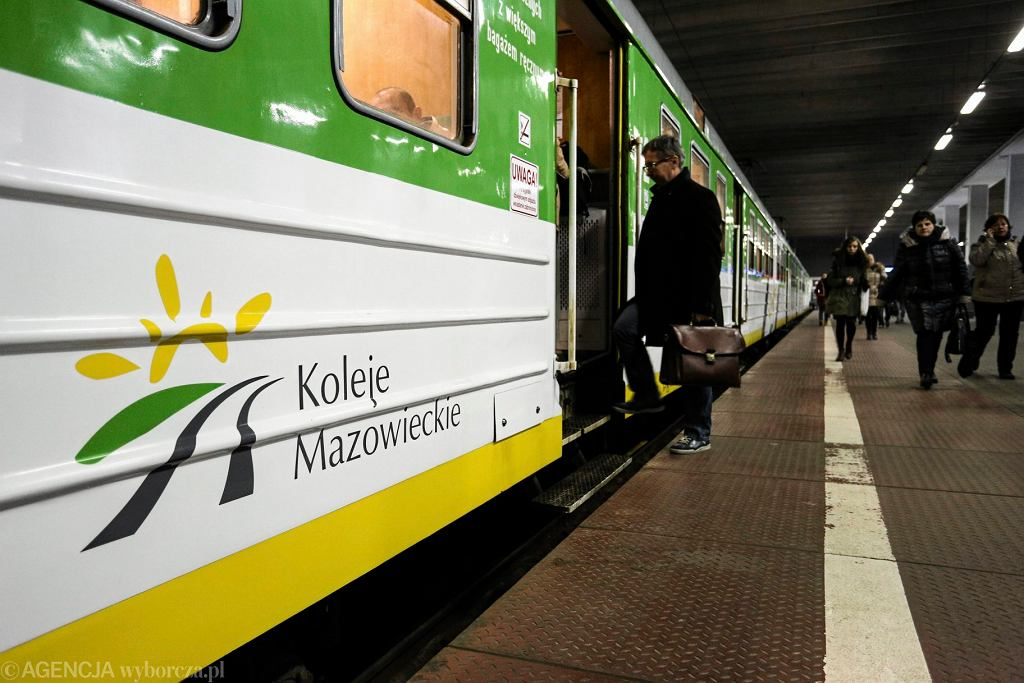 Pociąg kolei mazowieckich
