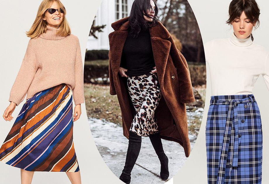 Spódnice we wzory to hit w modzie