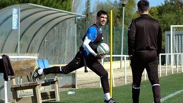 Vojo Ubiparip podczas treningu w Costa Ballena