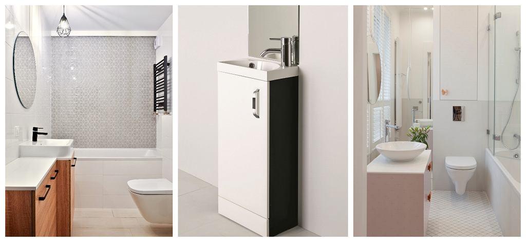 Propozycje rozwiązań do małych łazienek