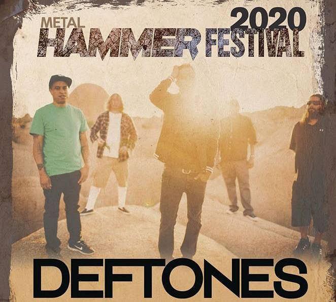 Deftones gwiazdą Metal Hammer Festival 2020 w Katowicach.