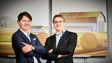 Jarosław Peczka i Artur Kleina, szefowie firmy Bio-Gen z Łodzi