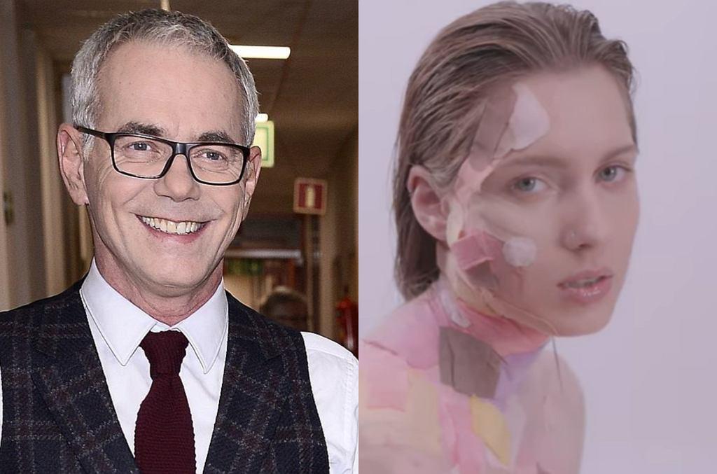 Robert Janowski z córką