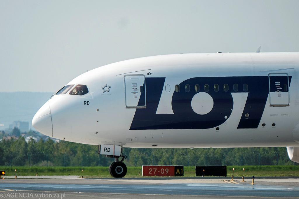 Boeing 787 Dreamliner z floty PLL LOT