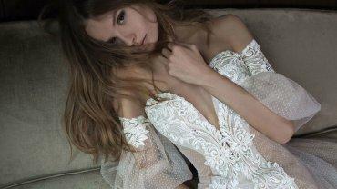 Magdalena Frąckowiak w kampanii sukni ślubnych Berta Bridal na jesień 2016