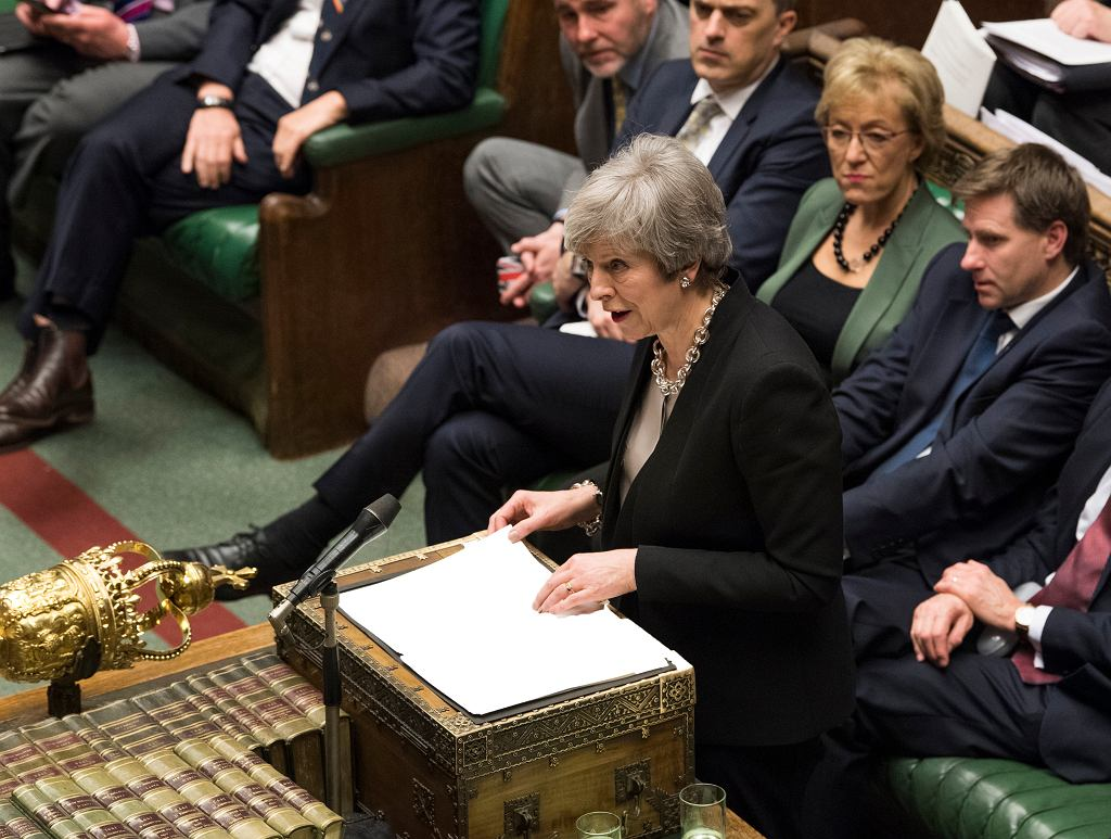 Brexit. Premier Theresa May