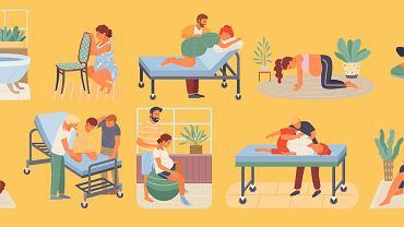 Jakie są pozycje do porodu? Która wydaje się najlepsza?