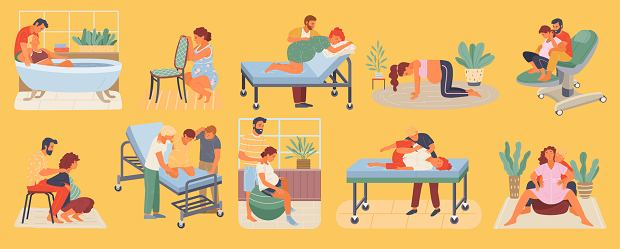 Pozycje do porodu: którą wybrać? Pozycja horyzontalna a pozycje wertykalne